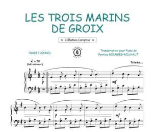Traditionnel - Les Trois Marins de Groix - Partition - di-arezzo.fr