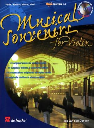 Musical Souvenirs Partition Violon - laflutedepan