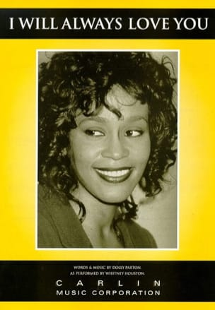 Whitney Houston - I Will Always Love You Bodyguard Movie - Sheet Music - di-arezzo.com