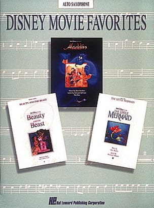 Disney Movie Favorites DISNEY Partition Saxophone - laflutedepan