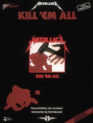 Kill 'em All Metallica Partition Pop / Rock - laflutedepan