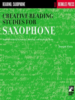 Joseph Viola - Creative Reading Studies For Saxophone - Partition - di-arezzo.fr