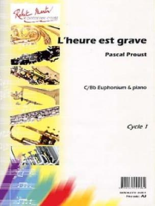 L'heure est grave Pascal Proust Partition Tuba - laflutedepan