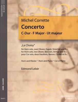 Michel Corrette - Concerto C Dur La Choisy - Partition - di-arezzo.fr