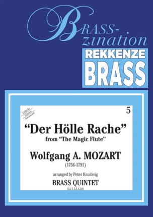 MOZART - Der Holle Rache From The Magic Flute - Sheet Music - di-arezzo.com