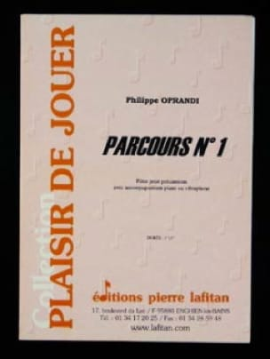 Parcours N° 1 Philippe Oprandi Partition laflutedepan