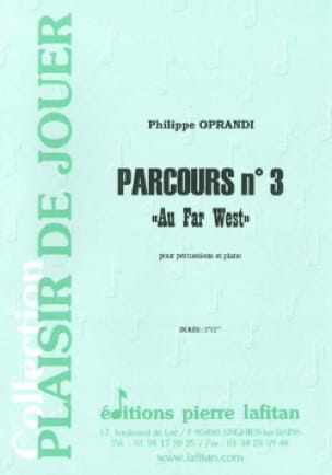 Philippe Oprandi - Route N ° 3 - Wild West - Sheet Music - di-arezzo.co.uk