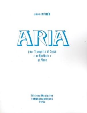Jean Rivier - Aria - Partition - di-arezzo.fr
