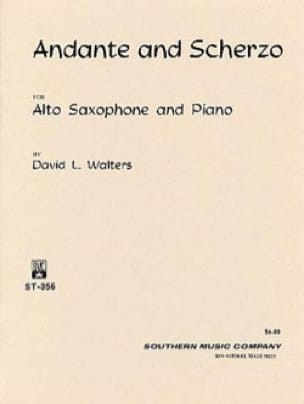 David L. Walters - Andante And Scherzo - Partition - di-arezzo.fr