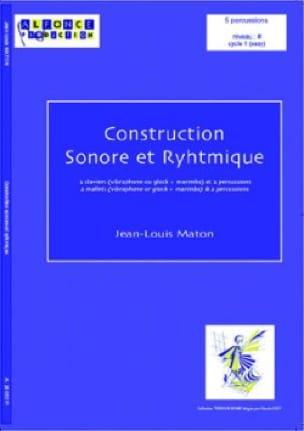 Construction Sonore Et Rythmique - Jean-Louis Maton - laflutedepan.com