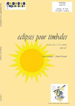 Riedinger D. / Herrgott F. - Eclipses For Timpani - Sheet Music - di-arezzo.co.uk