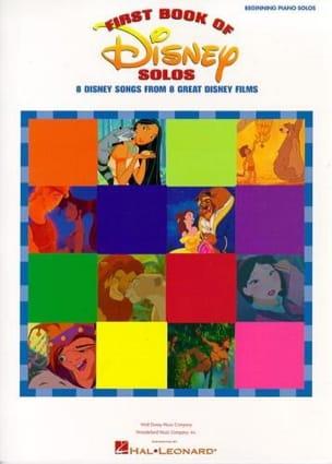 DISNEY - First Book Of Disney Solos - 8 Canzoni Disney ... Easy Piano - Partitura - di-arezzo.it
