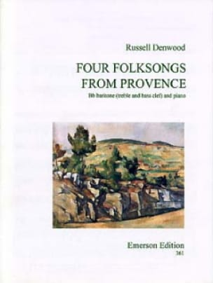 Russell Denwood - Four Folksongs From Provence - Partition - di-arezzo.fr
