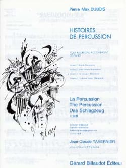 Pierre-Max Dubois - Stories of Percussion Volume 3 - The Thrasher - Sheet Music - di-arezzo.com