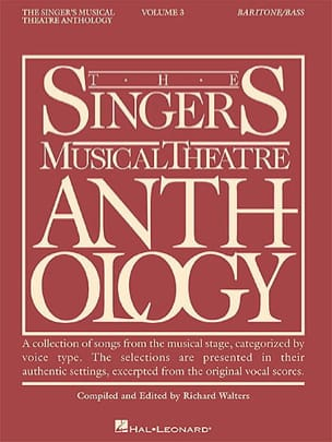 - The Singer's Musical Theater Anthology Volume 3 - Baritone / Bass - Sheet Music - di-arezzo.co.uk