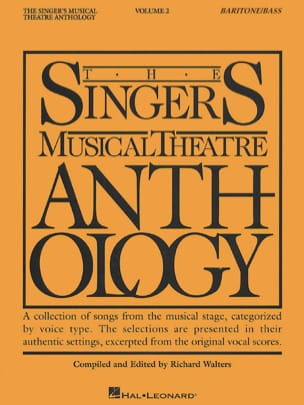 The Singer's Musical Theatre Anthology Volume 2 - Baritone / Bass - laflutedepan.com
