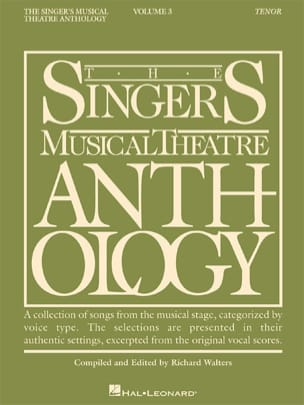 The Singer's Musical Theatre Anthology Volume 3 - Tenor - laflutedepan.com