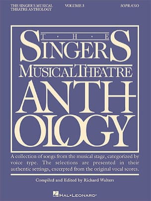 - The Singer's Musical Theater Anthology Volume 3 - Soprano - Sheet Music - di-arezzo.co.uk