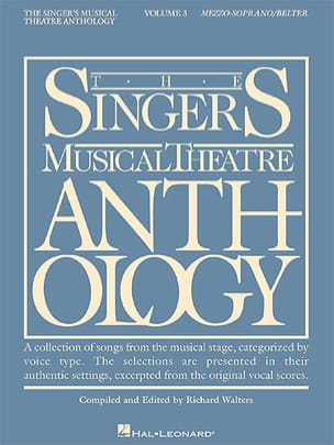 - The Singer's Musical Theater Anthology Volume 3 - Mezzo / Soprano - Sheet Music - di-arezzo.com
