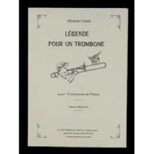 Légende Pour Un Trombone Michel Hulot Partition laflutedepan