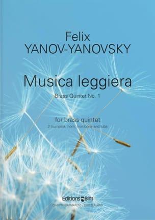 Felix Yanov-Yanovsky - Musica Leggiera - Partition - di-arezzo.fr