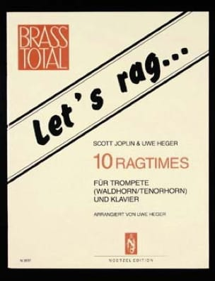 Let's Rag... 10 Ragtimes - JOPLIN - Partition - laflutedepan.com