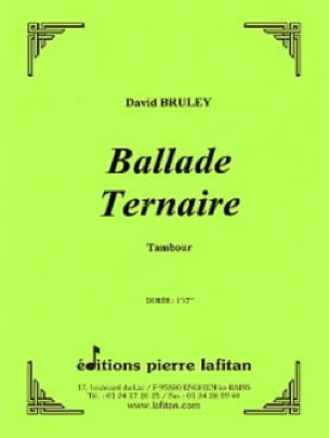 David Bruley - Ternary Ballad - Sheet Music - di-arezzo.com
