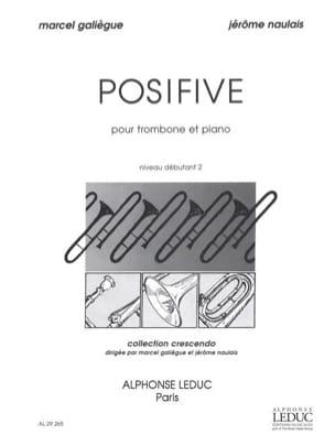 Posifive - Galiègue M. / Naulais J. - Partition - laflutedepan.com