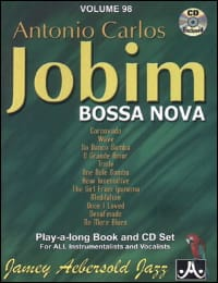 METHODE AEBERSOLD - Volume 98 - Carlos Jobim - Sheet Music - di-arezzo.com