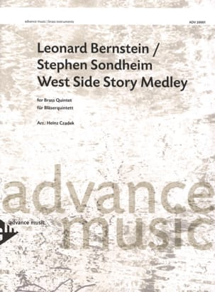Leonard Bernstein - West Side Story Medley - Sheet Music - di-arezzo.co.uk