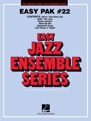 Easy Jazz Ensemble Pak # 22 - Partition - laflutedepan.com