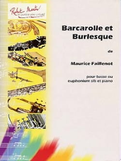 Maurice Faillenot - Barcarolle And Burlesque - Sheet Music - di-arezzo.co.uk