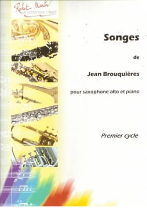 Songes - Jean Brouquières - Partition - Saxophone - laflutedepan.com