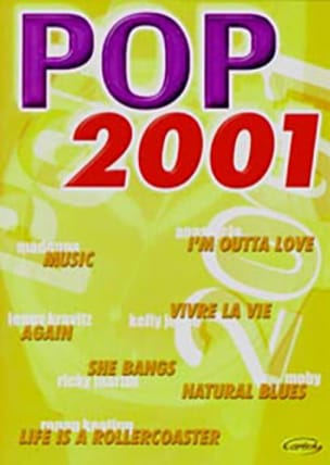 Pop 2001 - Partition - Variétés internationales - laflutedepan.com