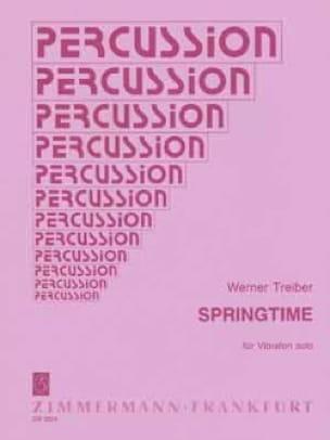 Springtime - Werner Treiber - Partition - laflutedepan.com