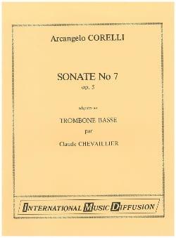 Arcangelo Corelli - Sonate N° 7 Opus 5 - Partition - di-arezzo.fr