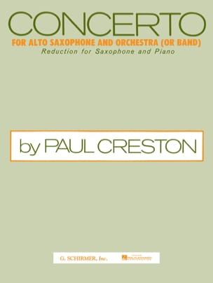 Paul Creston - concierto - Partitura - di-arezzo.es