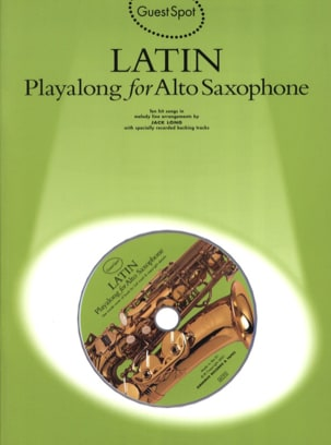 - Guest Spot - Latin Playalong For Alto Saxophone - Sheet Music - di-arezzo.com