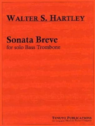 Walter S. Hartley - Sonata Breve - Partition - di-arezzo.fr