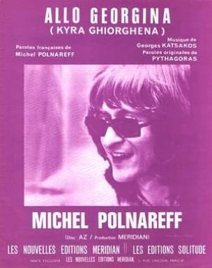 Michel Polnareff - Allo Georgina - Sheet Music - di-arezzo.co.uk