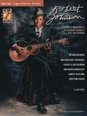 Robert Johnson - Robert Johnson Signature Licks - Partition - di-arezzo.fr