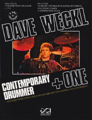 Dave Weckl - Contemporary drummer + one avec 2 CDs - Partition - di-arezzo.fr
