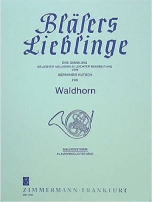 - Bläsers Lieblinge - Parts - Sheet Music - di-arezzo.com