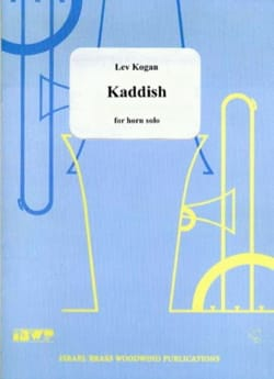 Kaddish Lev Kogan Partition Cor - laflutedepan