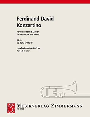 Ferdinand David - Konzertino Opus 4 In Es-Dur - Partitura - di-arezzo.it