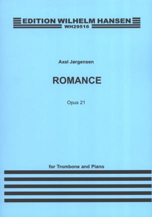 Axel Jorgensen - Romance Opus 21 - Sheet Music - di-arezzo.co.uk