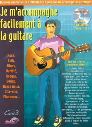 Je m'accompagne facilement à la guitare Laurent Huet laflutedepan
