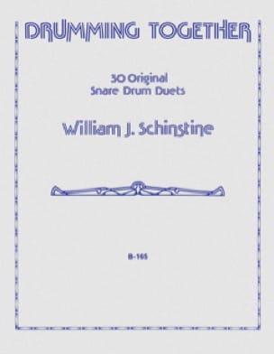 Drumming Together - William J. Schinstine - laflutedepan.com