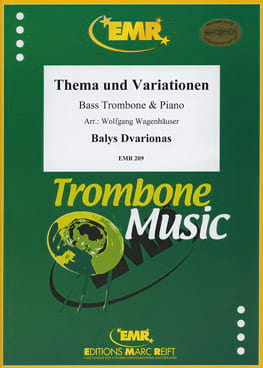 Thema & Variationen - Balys Dvarionas - Partition - laflutedepan.com