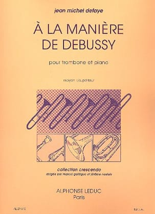 Jean-Michel Defaye - In the way of Debussy - Sheet Music - di-arezzo.com